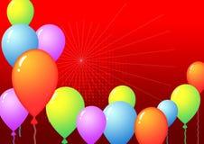 Ballonmalplaatje stock fotografie