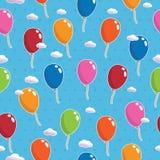 Ballonmuster nahtlos Stockbilder