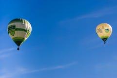Ballonn-Produkteinführung in 24 Stunden TT de Fronteira 2013 Lizenzfreie Stockfotos
