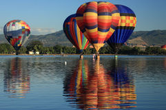 Ballonreflexion 1 lizenzfreies stockfoto