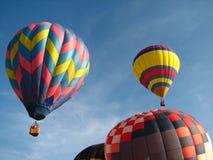 Ballons à air chauds Photos libres de droits