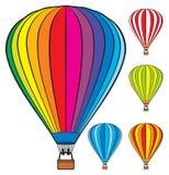 Ballons à air chauds illustration stock