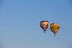 Ballons à air chauds Image libre de droits