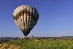 Ballons à air chauds dans Cappadocia, mai 2017 Image libre de droits