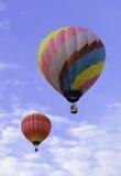 Ballons à air chauds de duel Image libre de droits