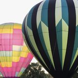 Ballons à air chauds intoxiquant  Photos stock
