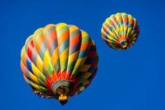 Ballons à air chauds magiques Photo libre de droits