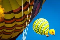 Ballons à air chauds Napa Valley images libres de droits