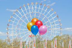 Ballons à VDNH Photo stock
