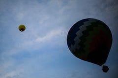 Ballons ζεστού αέρα Στοκ Εικόνα