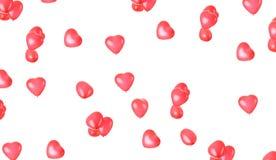 ballons καρδιά Στοκ φωτογραφία με δικαίωμα ελεύθερης χρήσης