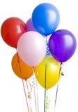 ballons ομαδοποιούν το λευκό στοκ φωτογραφία με δικαίωμα ελεύθερης χρήσης