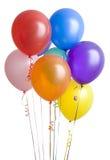 ballons ομαδοποιούν το λευκό στοκ εικόνες