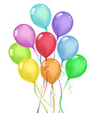 Ballons illustration de vecteur