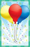 Ballons vector illustratie