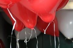 Ballons 2 de coeur Photographie stock