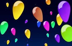 Ballons Arkivfoto
