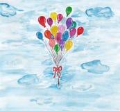 ballons royalty-vrije stock afbeeldingen