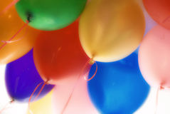 Ballons_background Stock Photos