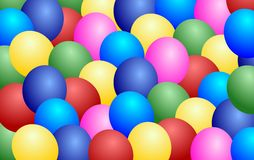 Ballons background Stock Photo