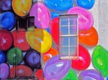 Ballons bij het Hotel van Grutten John'o royalty-vrije stock foto's