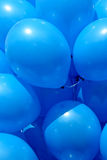 Ballons bleus Image libre de droits