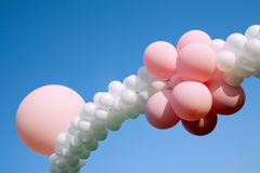 Ballons at children party Royalty Free Stock Photos