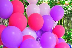 Ballons collage Royalty Free Stock Photography