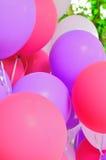 Ballons collage (4) Stock Photo