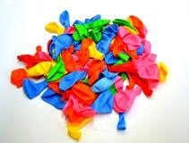 Ballons colorés Photo libre de droits