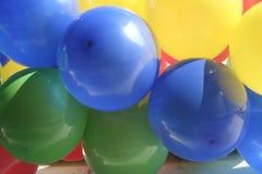 Ballons colorés Photo stock