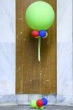 Ballons colorés Photos libres de droits