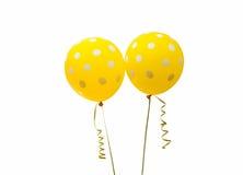 Ballons colorés d'isolement Image stock
