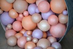 Ballons colorés de fête Photo libre de droits