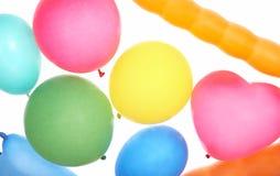 Ballons colorés multi Images libres de droits