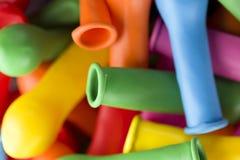 Ballons colorés pour la partie Photo stock