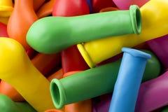 Ballons colorés pour la partie Photos stock