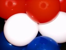 ballons color tri Arkivfoton