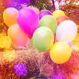 Ballons coloridos Foto de Stock Royalty Free