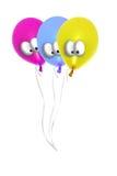 Ballons comiques Photo libre de droits
