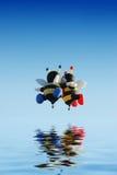 Ballons d'abeille images stock