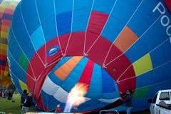 Ballons d'air chaud de groupe Photo libre de droits