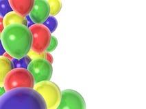 Ballons d'anniversaire illustration de vecteur