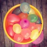 Ballons d'eau Photographie stock libre de droits