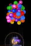 Ballons dans Bellecour Images stock