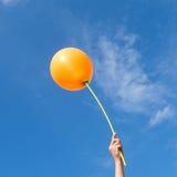 Ballons dans le ciel Image libre de droits