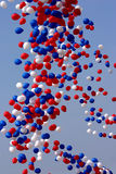 Ballons de célébration relâchés photos libres de droits