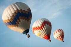 Ballons de Cappadocia Image libre de droits