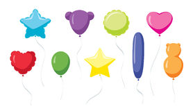 Ballons de carnaval Photos stock