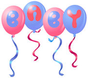 Ballons de chéri Images libres de droits